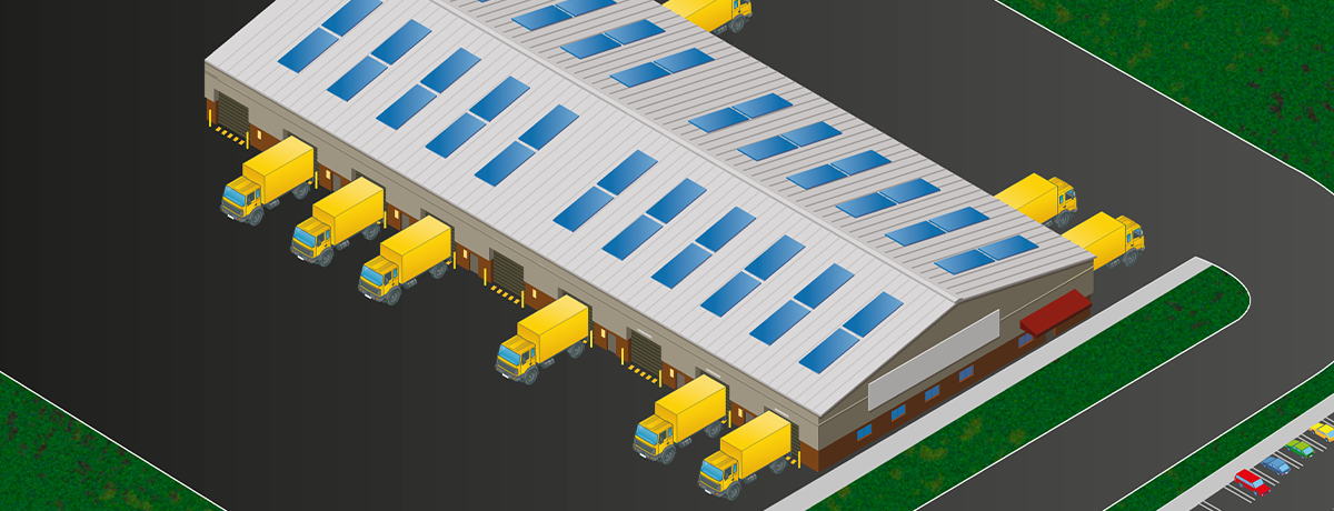 Cross docking warehousing design