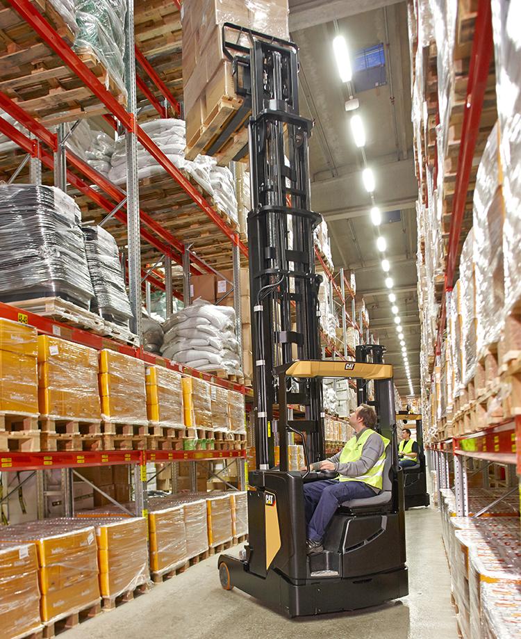 Flat floors improve warehouse productivity
